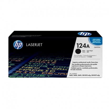 کارتریج مشکی اچ پی لیزری HP 124A BLACK Q6000A