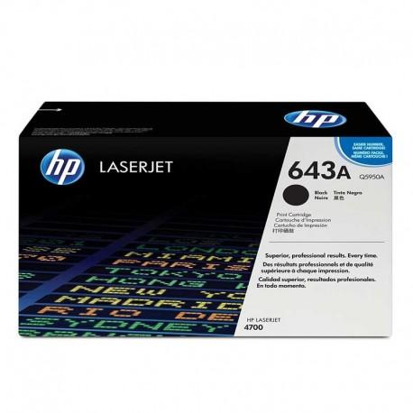 کارتریج مشکی اچ پی لیزری HP 643A BLACK Q5950A