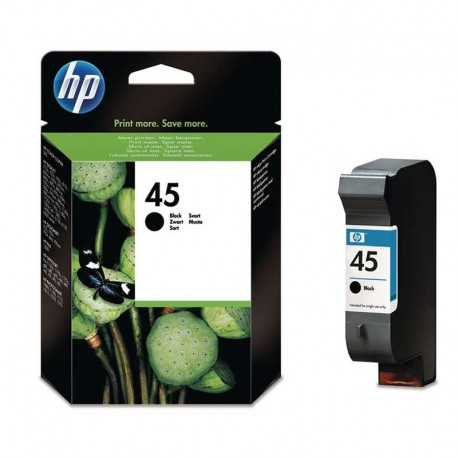 کارتریج مشکی میل پایین اچ پی HP 45 BLACK SMALL 51645GE