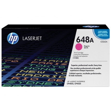 کارتریج لیزری رنگی اچ پی قرمز HP 648A