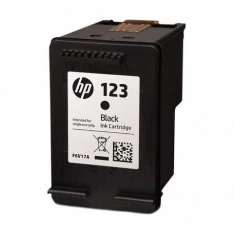کارتریج جوهرافشان مشکی اچ پی HP 123 Black Ink Cartridge F6V17AE