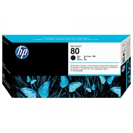 هد پلاتر مشکی اچ پی HP 80 Black DesignJet Printhed and Printhead Cleaner C4820A