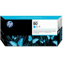 هد پلاتر آبی اچ پی مدل HP 80 Cyan DesignJet Printhead And Printhead Cleaner C4821A