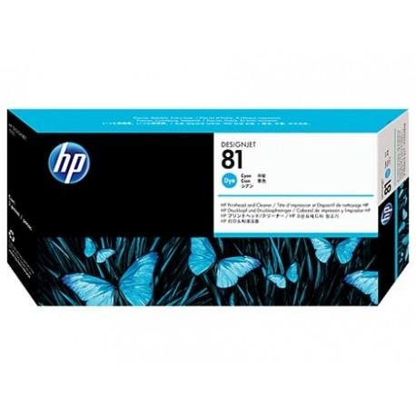 هد پلاتر آبی اچ پی مدل HP 81 Cyan DesignJet Dye Printhead C4951A