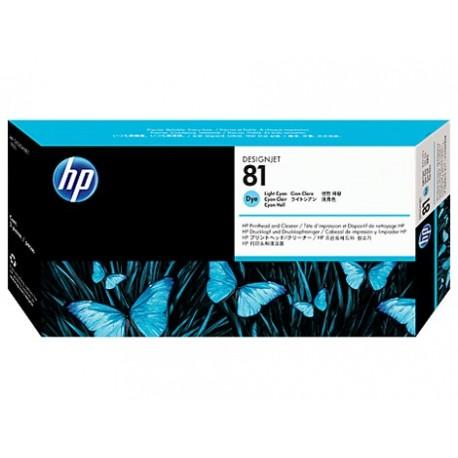 هد پلاتر آبی روشن اچ پی مدل HP 81 Light Cyan DesignJet Dye Printhead C4954A