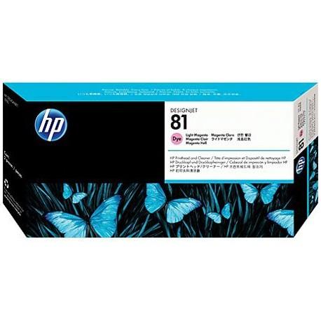 هد پلاتر قرمز روشن اچ پی مدل HP 81 Light Magenta DesignJet Dye Printhead C4955A