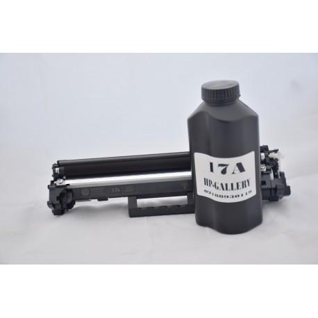 شارژ و سرویس و تعمیر کارتریج لیزری مشکی اچ پی HP 17A Black LaserJet TOner