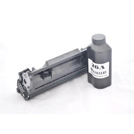 شارژ و سرویس و تعمیر کارتریج لیزری مشکی اچ پی HP 26A Black LaserJet Toner