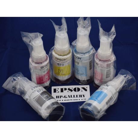 جوهر فابریک شش رنگ اپسون EPSON 100cc