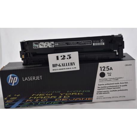 کارتریج مشکی اچ پی لیزری HP 125A BLACK CB540A