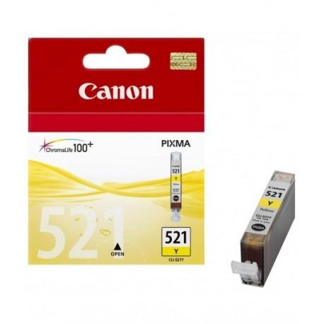 کارتریج زرد کانن CANON CLI 521 YELLOW