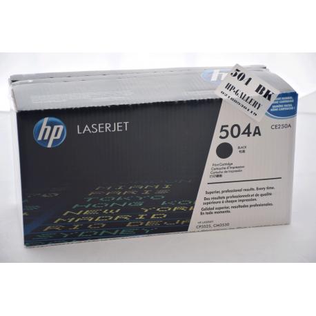 کارتریج مشکی اچ پی لیزری HP 504A BLACK CE250A