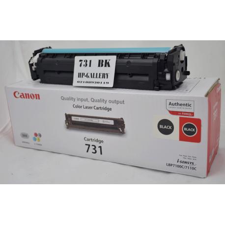 کارتریج تونر لیزری مشکی کانن 731 Canon Black