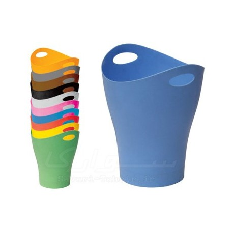 سطل زباله اداری پلاستیکی کوچک و بزرگ