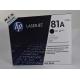 کارتریج لیزری اورجینال مشکی اچ پی HP 81A