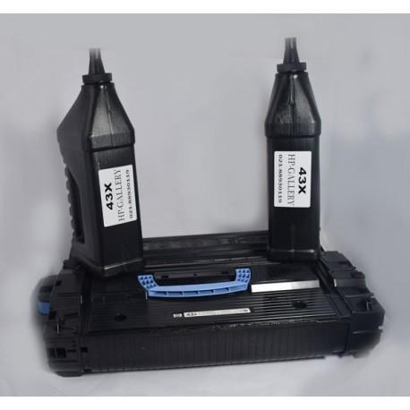 شارژ و سرویس و تعمیر کارتریج تونر لیزری اچ پی HP 43x BLACK LASER C8543X