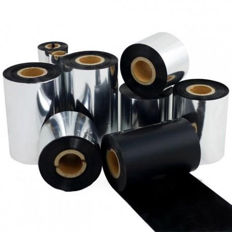 ریبون لیبل پرینتر رزین Wax / Resin Ribbon 11x300
