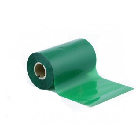 ریبون سبز لیبل پرینتر وکس / رزین Wax / Resin Ribbon 110x300