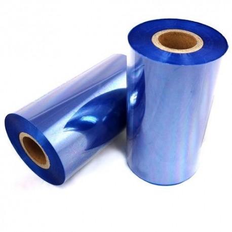ریبون آبی لیبل پرینتر وکس / رزین Wax / Resin Ribbon 110x300