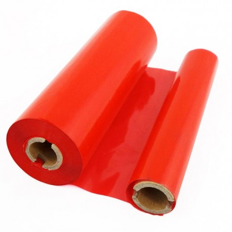 ریبون قرمز لیبل پرینتر وکس / رزین Wax / Resin Ribbon 110x300