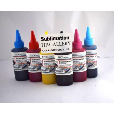 جوهر 100 سی سی سابلیمیشن اسکای چهار رنگ برای پرینتر اپسون