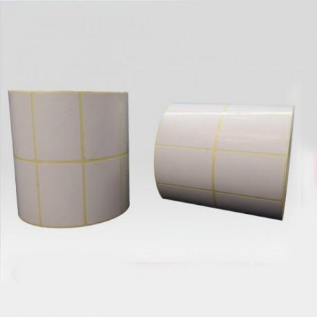 برچسب کاغذی دو ردیفه پرینتر لیبل زن Paper Label 45x50