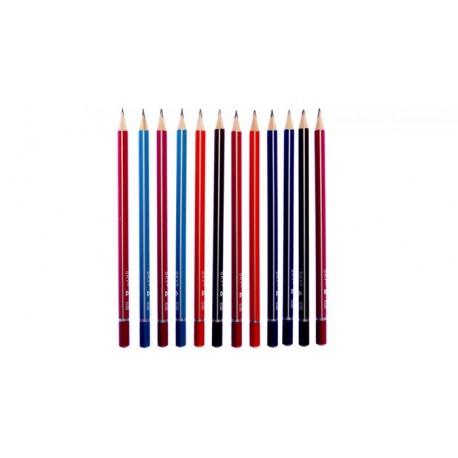 مداد مشکی اسکای مدل SKY HB بسته 12 عددی