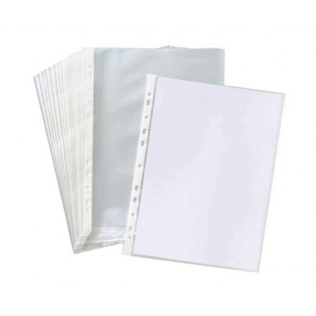 کاور پلاستیکی کاغذ A4 بسته 100 عددی