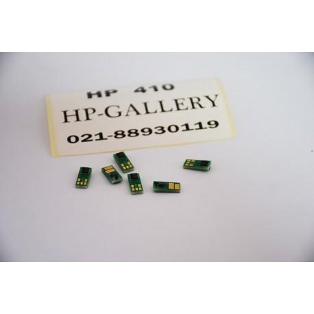 چیپست کارتریج لیزری رنگی اچ پی HP CF 410A سری چهار رنگ