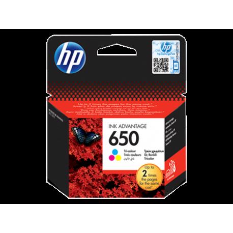 کارتریج جوهری رنگی اچ پی HP 650 Tri COLOR CZ102AE