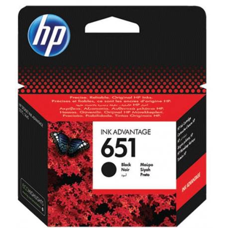 کارتریج جوهری مشکی اچ پی HP 651 BLACK C2P10AE