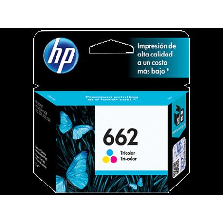 کارتریج جوهری رنگی اچ پی HP 662 TriCOLOR CZ104AL