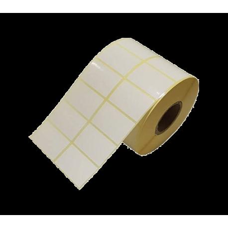 برچسب کاغذی دو ردیفه پرینتر لیبل زن Paper Label 20x40
