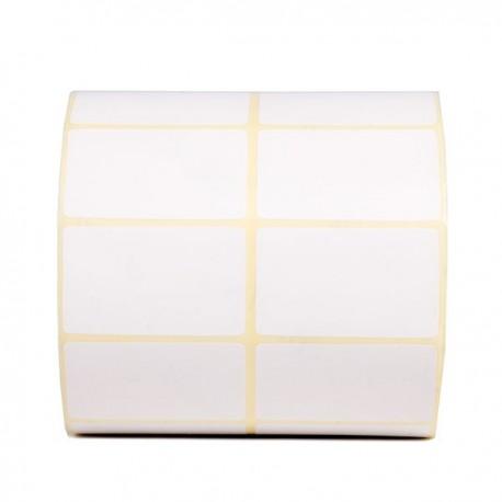 برچسب کاغذی دو ردیفه پرینتر لیبل زن Paper Label 30x45