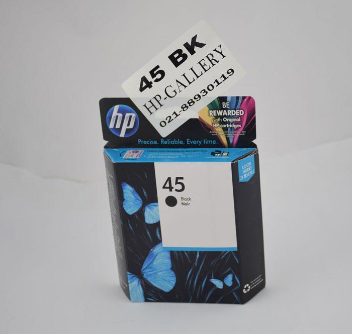 کارتریج جوهرافشان مشکی اچ پی HP 45 Black 51645AA